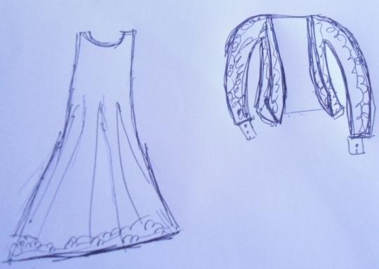 a. desain baju